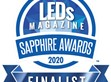MEAN WELL HVGC-1000 has been named a LEDs Magazine Sapphire Awards Finalist