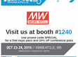 MEAN WELL Presents Latest Medical Grade Configurable Power Supplies Solution at MDM Minneapolis 2019